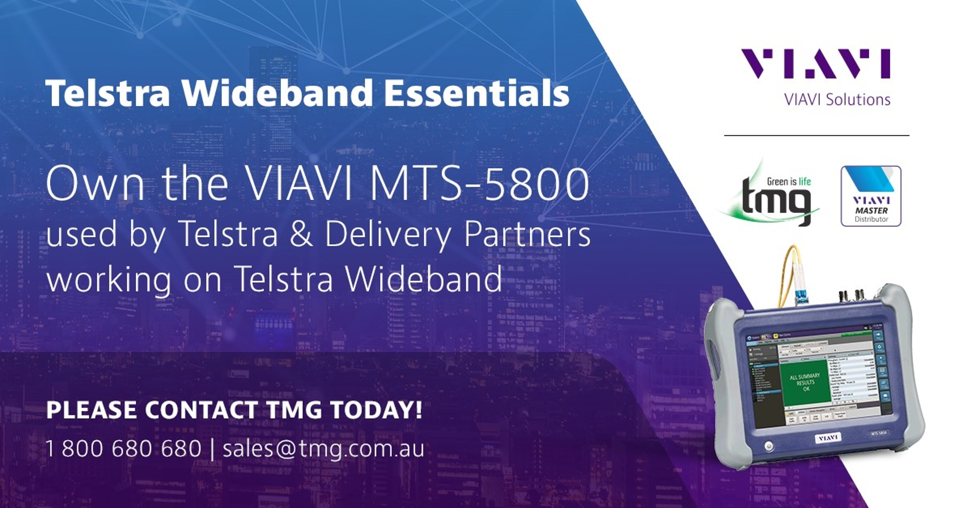 Telstra Wideband Testing and How we can help