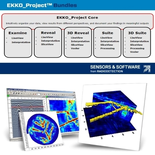Sensors and Software LMX200 Map & Survey GPR Unit.