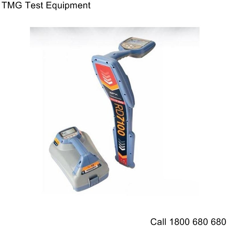 rent or buy a radiodetection rd7100 precision pipe and cable locator from tmg tmg test equipment. Black Bedroom Furniture Sets. Home Design Ideas