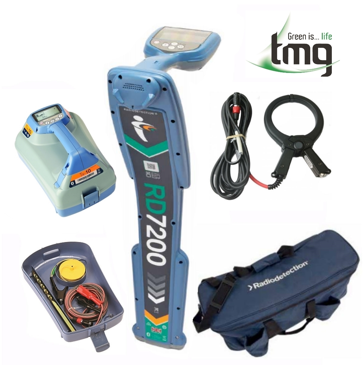 Radiodetection RD7200 Precision Cable and Pipe Locator