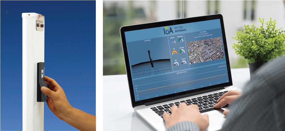 VIAVI 3Z IoA Antenna Alignment Monitoring Sensor