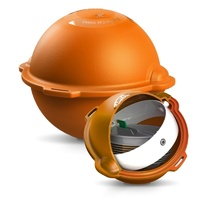 Radiodetection Omni Marker II Marker Balls, Orange, Telephone/Telecoms, 101.4kHz,