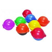 Radiodetection Omni Marker II Marker Balls, Black & Orange, Cable TV, 77.0kHz,