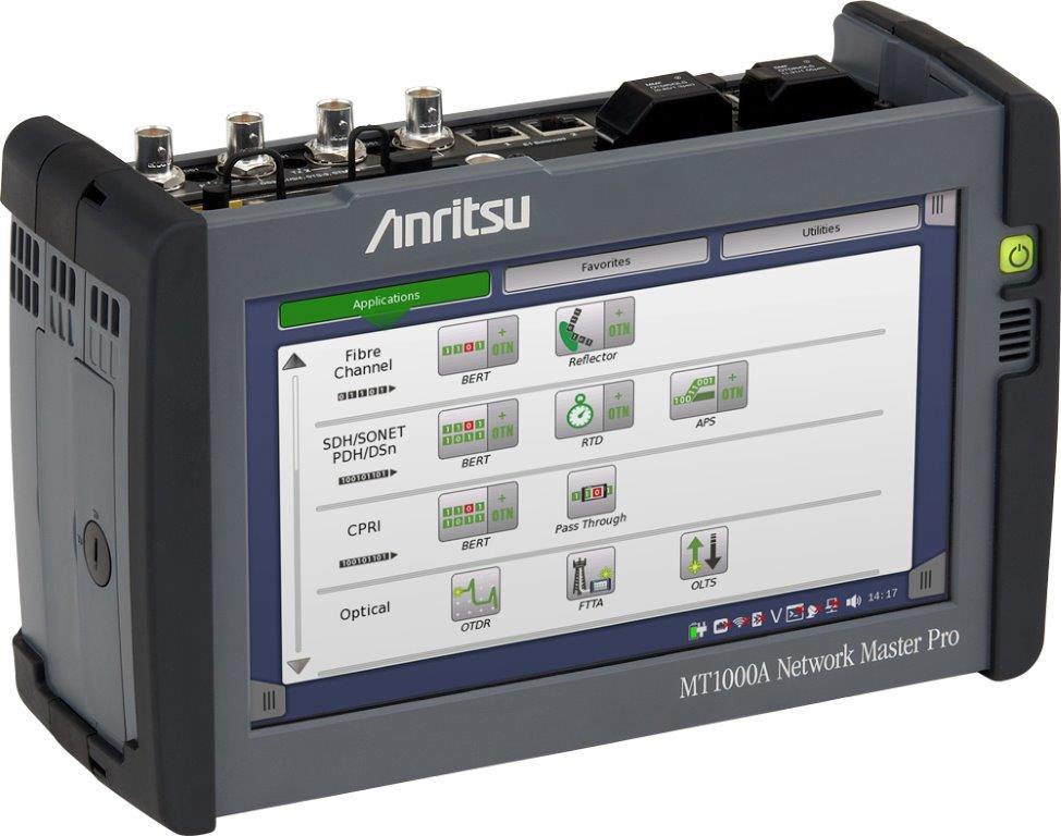 Anritsu MT1000A - Network Master Pro (Ethernet/CPRI/OTDR Test Equipment)