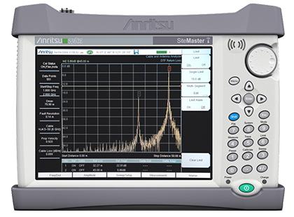 Anritsu S362E - Site Master Handheld Cable & Antenna Analyzer; 2 MHz to 6 GHz