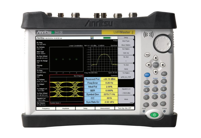Anritsu S412E - LMR Master Cable, Antenna, Spectrum, Interference; 500 kHz to 1.6 GHz