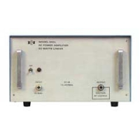 ENI / Electronics and Innovation (E&I) 550L RF Power Amplifier, 1.5 MHz - 400 MHz, 50 Watts