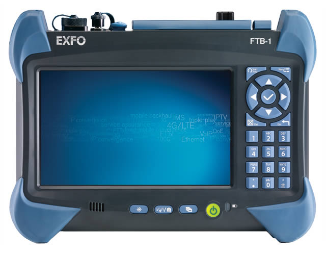Exfo MAX-800 ETHERNET AND TRANSPORT TESTING UP TO 100G