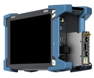 Exfo FTB-5255 - Optical Spectrum Analyser with Polarization Controller