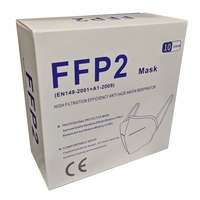 FFP2 10pc Respiratory Protection Safety Equipment