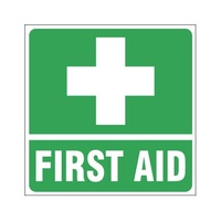 TMG First Aid Sign -Vehicle Labelling Signs