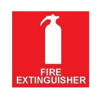 TMG Fire Extinguisher Sign-Vehicle Safety Signs