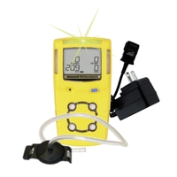 Honeywell Gas Alert MicroClip X3-Portable Gas Detection Equipment