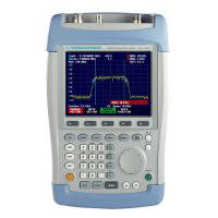 Rohde & Schwarz FSH6 (model .26) Handheld Spectrum Analyser, 100 kHz to 6 GHz with Tracking Generator and Preamplifier