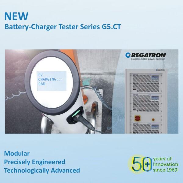 Regatron G5.CT / TC.ACS - Electric Vehicle (EV) Charger Testers