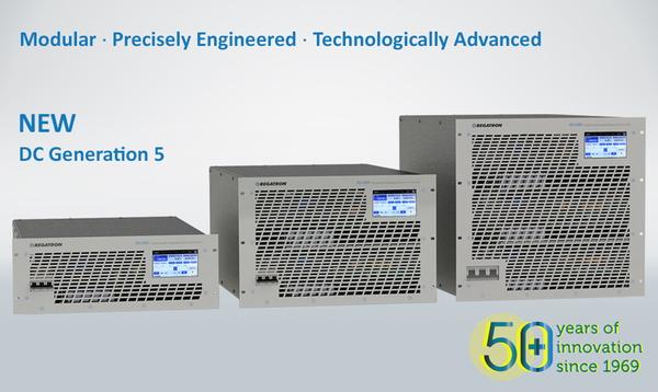 Regatron G5.RSS - New Generation of Programmable Bidirectional Regenerative DC Power Supplies