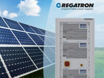 Regatron G5.SAS - Solar Array (PV) Simulators