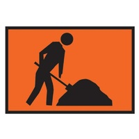 TMG Workmen Ahead - 900x600 - Metal-Shop Work Zone Tools Online