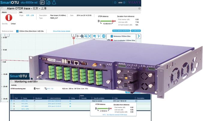 VIAVI SmartOTU - Standalone Remote Fibre Test Solution