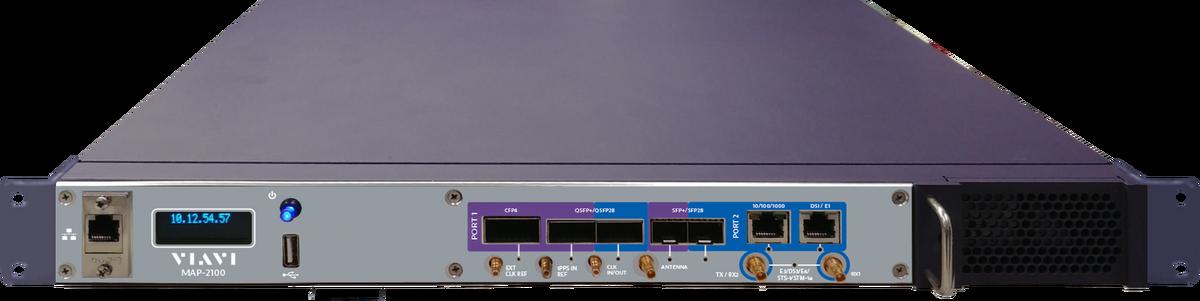 VIAVI MAP-2100 - Rack-mounted test unit for remote BER tests