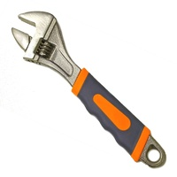 "Adjustable Wrench With Grip 10"" 254mm."
