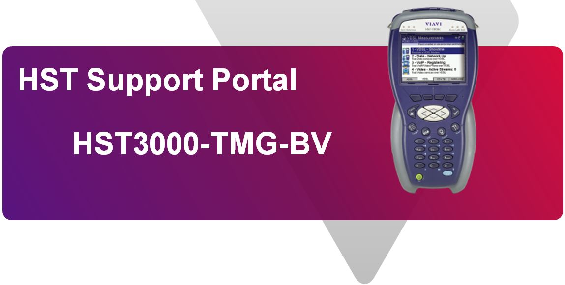 Support Page for VIAVI/JDSU HST-3000-TMG-BV