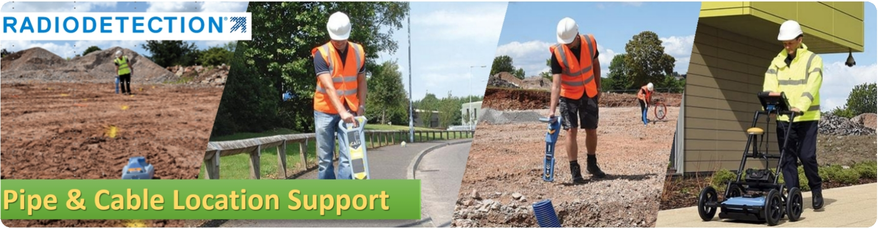 Radiodetection Pipe & Cable Locator Support