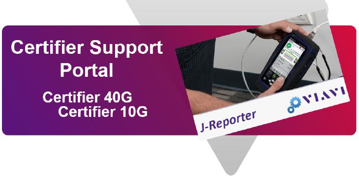 VIAVI Certifier Support Portal