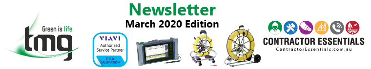 TMG / Contractor Essentials Newsletter - November 2019 Edition